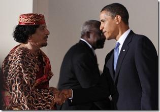 Gaddafi-Obama-Masonic-Handshake