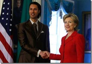 HillaryClinton MutassimGaddafi2009