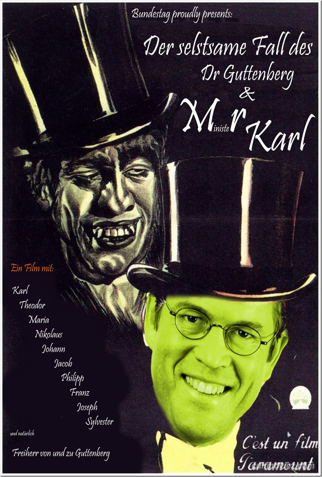 POSTER - DR.JEKYLL AND MR.HYDE