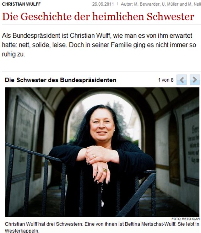 Christian Wulff  Die Geschichte der heimlichen Schwester - Nachrichten Politik - Deutschland - WELT ONLINE-202402