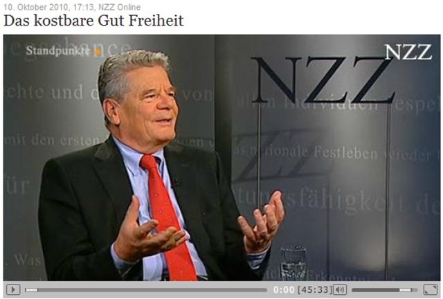 Das kostbare Gut Freiheit   NZZ Online -151600