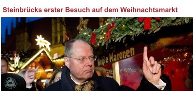 Steinbrück Weihnachtsmarkt