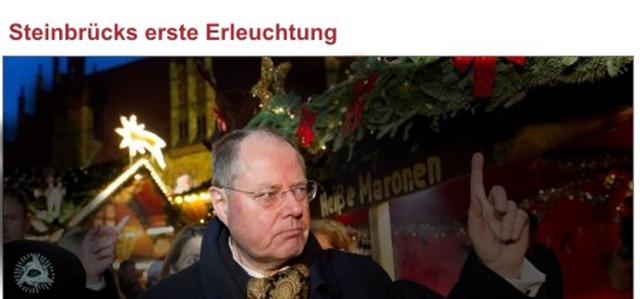 Steinbrück erleuchtung