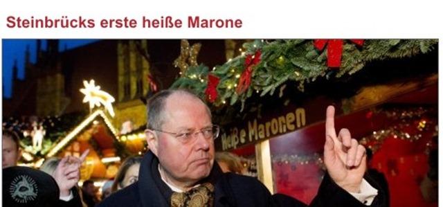 Steinbrück heiße Marone