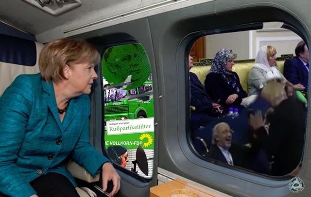 Merkel Grüne
