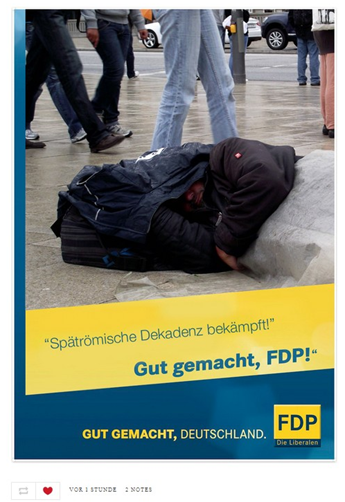 Gut gemacht, FDP