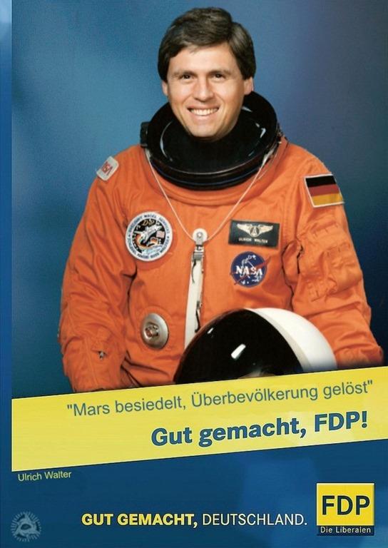 Ulrich Walter FDP Kampagne 2013