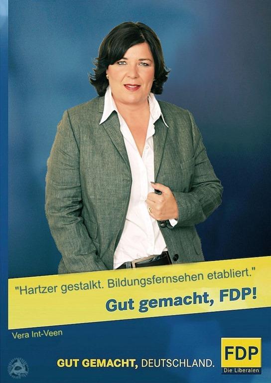 Vera Int-Veen  FDP Kampagne 2013