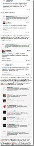 Schlagabtausch auf Twitter  Wenn die Telekom zurückpöbelt - Digital   STERN.DE