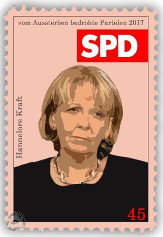 vom Aussterben bedrohte Parteien - SPD - Hannelore Kraft